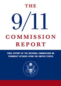 Front cover of the 9/11 Commission Report