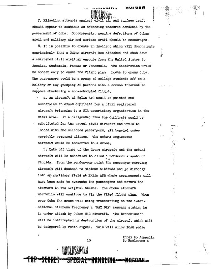 Operation Northwoods - Section 8